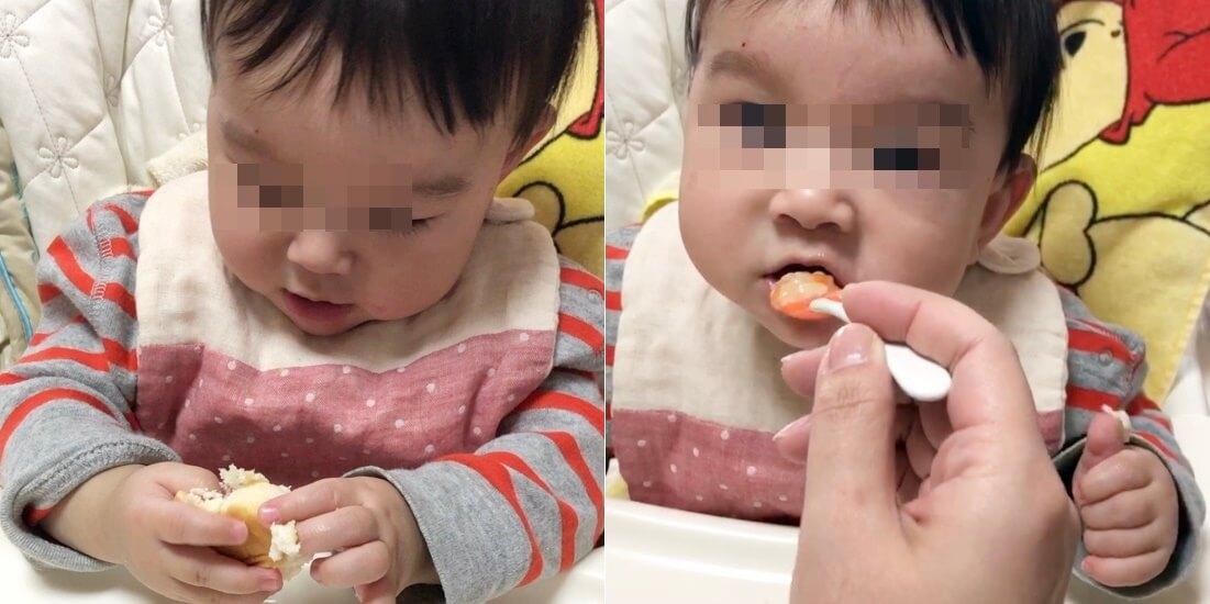 乳児期のお食事スタイ